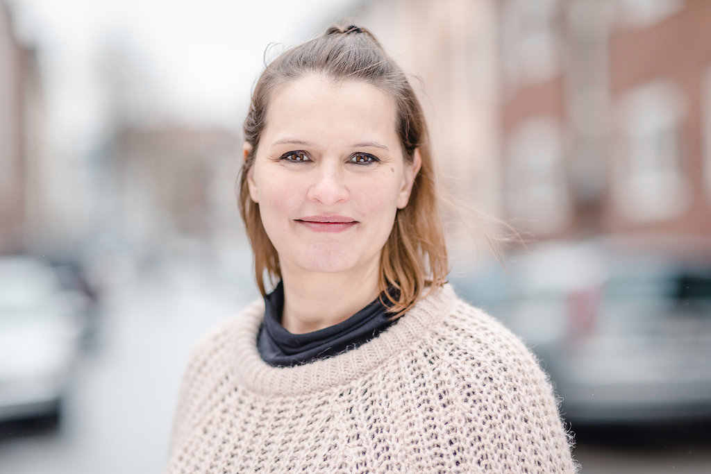 Porträt von Anna Backmann