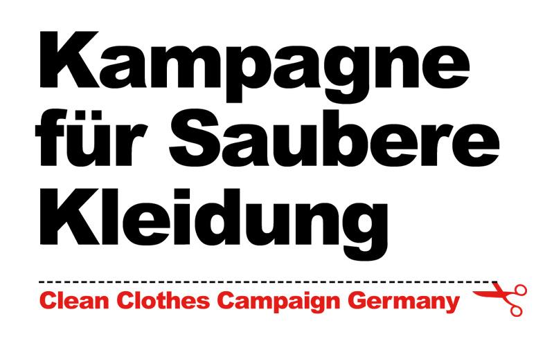 Das Logo der Kampagne für Saubere Kleidung