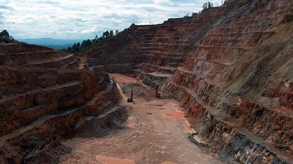 Tagebergbau in Honduras