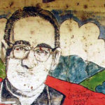 Wandgemälde des ermordeten Bischofs Oscar A. Romero