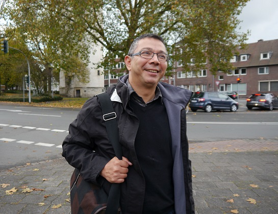 Pedro Cabzeas von CRIPDES zu Besuch in Deutschland