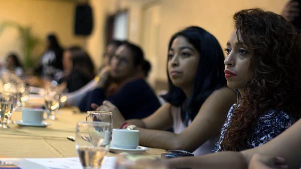 Frauen bei einem CDM Workshop
