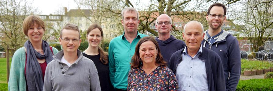 Der fast vollständige Vorstand der CIR im April 2018