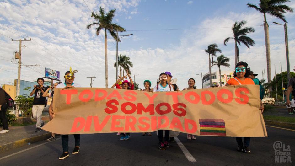 LGBTI* Parade in Nicaragua 2016 am sogenannten