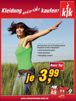 Cover der KiK Prospektpersiflage der CIR