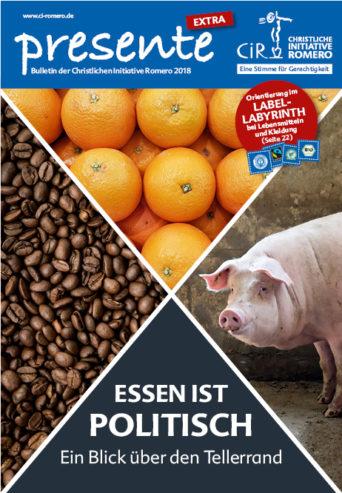 Cover der presente Extra 'Essen ist politisch'