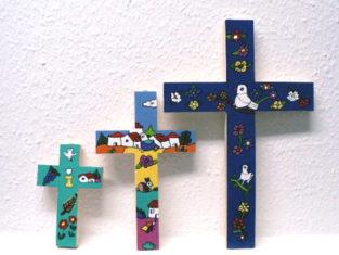CIR-Holzkreuze mit Bemalung_13-20-29cm