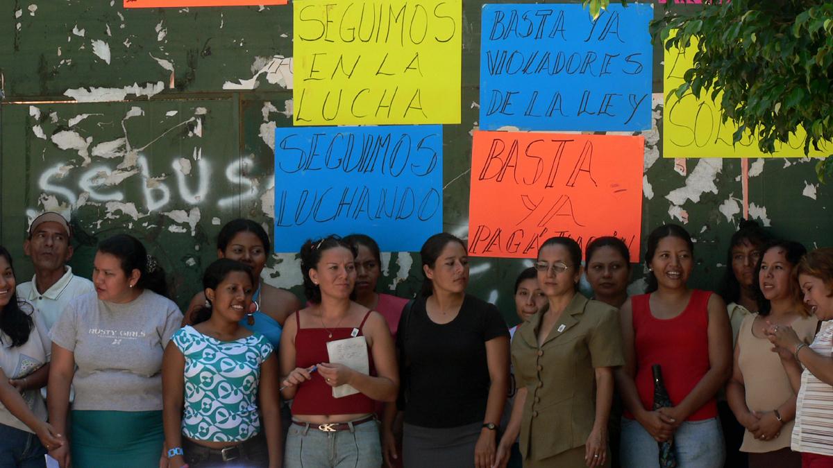 Demonstration-Maquila-Streik-Arbeit-ElSalvador