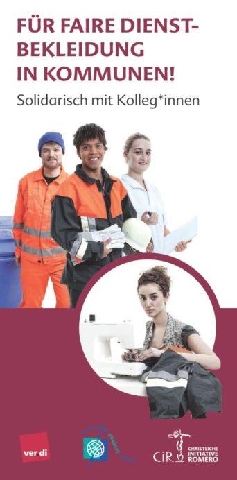 Cover von Für Faire Dienstkleidung in Kommunen!