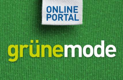 Logo des Grüne Mode Online-Portals