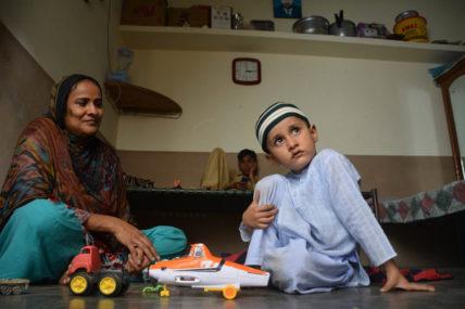 Shahida P. hat ihren Mann durch den Brand in der Ali Enterprises Textilfabrik verloren und sich für eine faire Entschädigung eingesetzt
