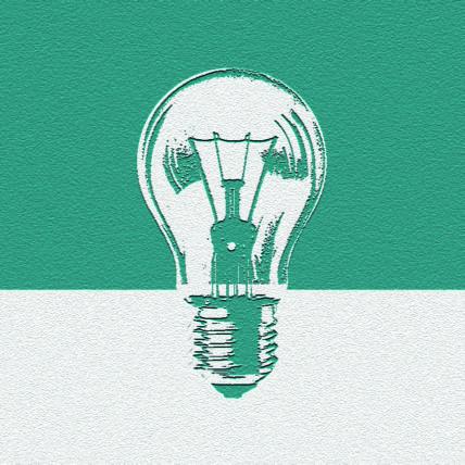 Illustration Glühbirne