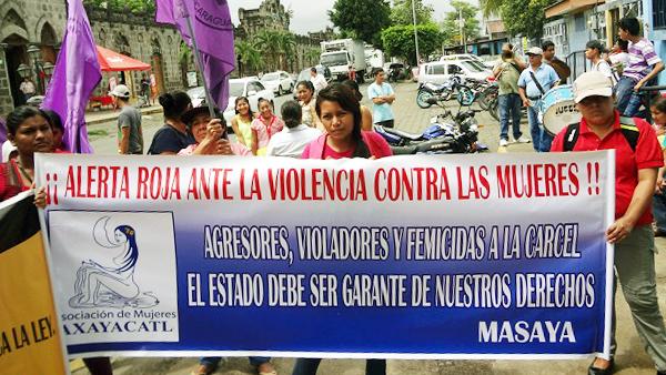 Demonstration gegen Gewalt gegen Frauen