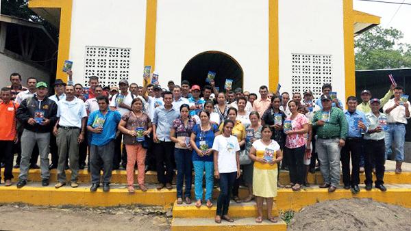 Gruppenbild der Organisation
