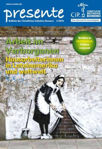 Cover der Presente aus 2014 Nr. 1