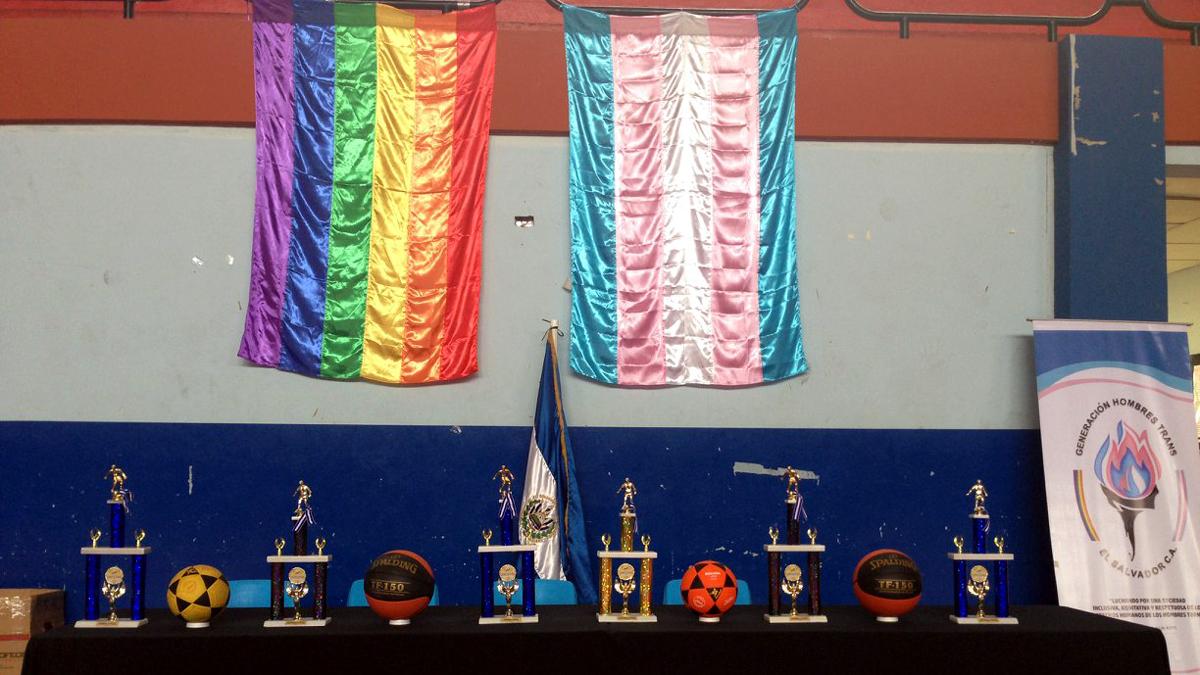 Medaillenausstellung bei Sportveranstaltung