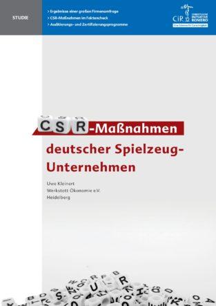 Cover der CSR-Studie von Uwe Kleinert