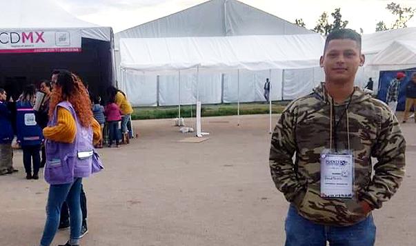 Daniel R. auf dem Weg von seiner Heimat Honduras in die USA