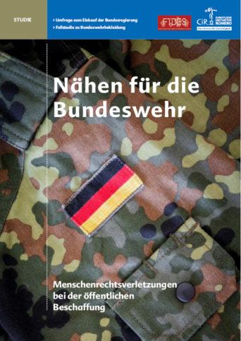 Cover der Studie Nähen für die Bundeswehr