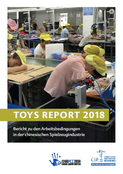 Cover des Toys_Report 2018