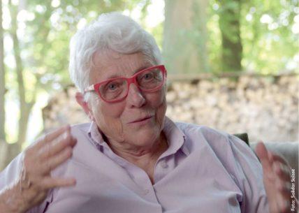 Porträt der Aktionärin und Aktivistin Marie-Claude Hessler