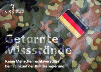 Cover der Postkarte Getarnte Missstände