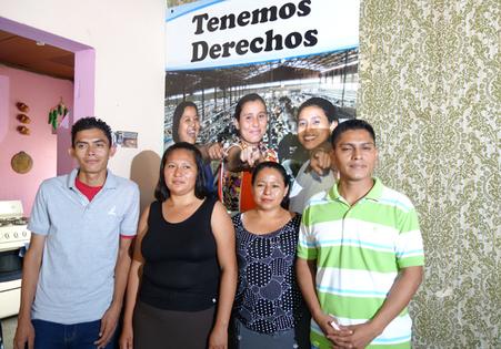 Betriebsratmitglieder von Young One