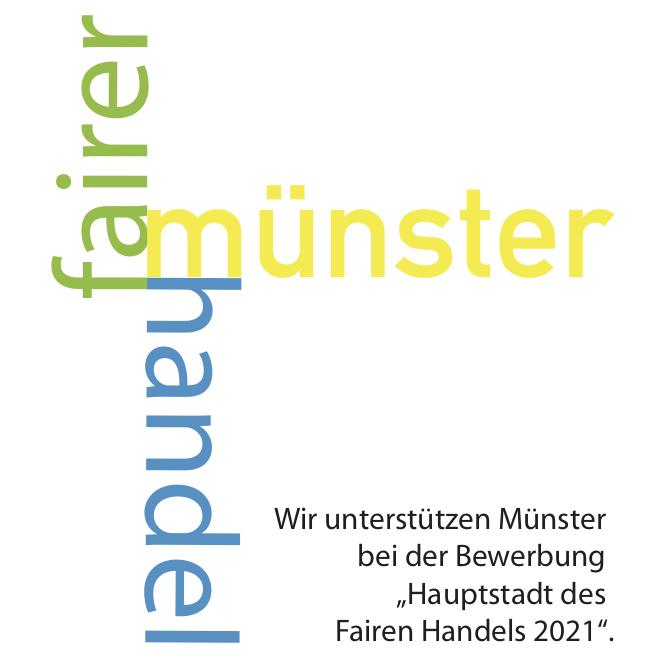 Unterstützer Logo Fairer Handel Münster