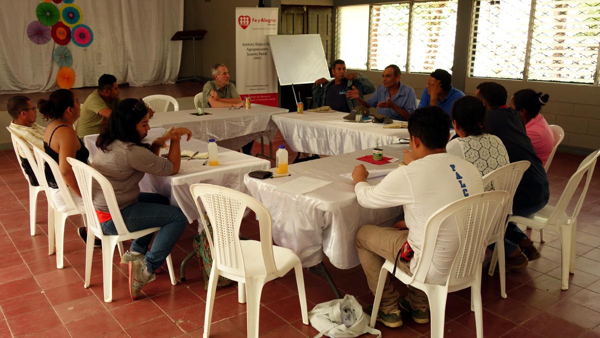 CIR Refernt Thomas Krämer trifft sich in Nicaragua mit Parner*innen des Klimaprojekts