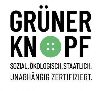 Textilsiegel Grüner Knopf