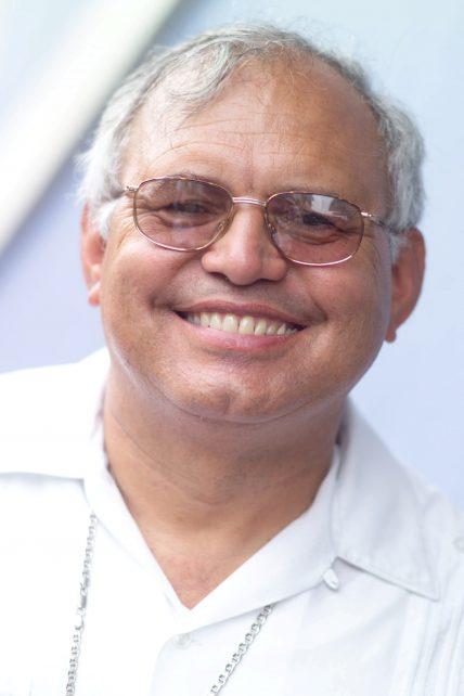Portrait des Kardinals Alvaro Ramazzini in Guatemala