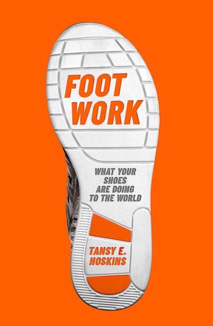 Cover des Buches Foot Work mit Sohle eines Turnschuhs