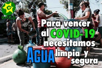 """Online-Kampagne von UNES """"Um Covid-19 zu besiegen, brauchen wir sauberes und sicheres Wasser"""""""