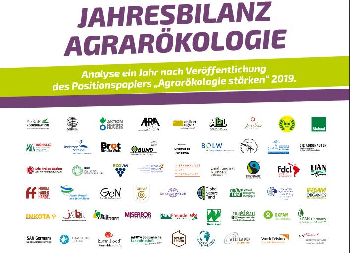 Bündnis Agrarökologie Partnerorganisationen