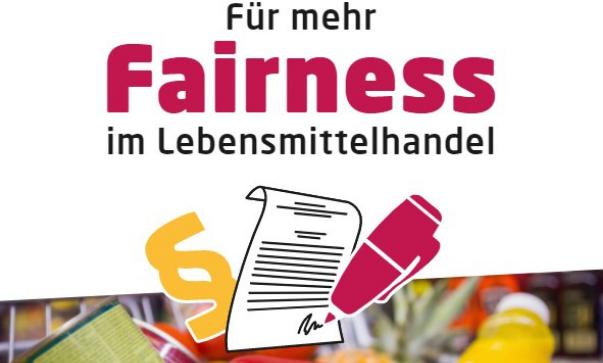 Für mehr Fairness im Lebensmittelhandel