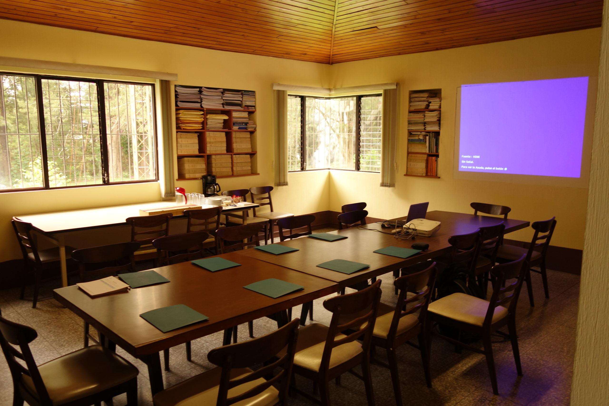 Büroräume der Organisation