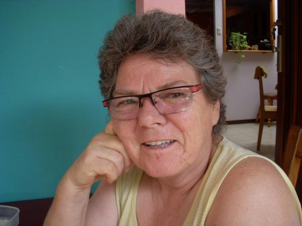 Brigitte Hauschild, Mitbegründerin der Frauen-Organisation Aguas Bravas
